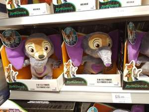 Zootropolis 2 in 1 Ele-Finnick - reduced to £6.99 in Home Bargains
