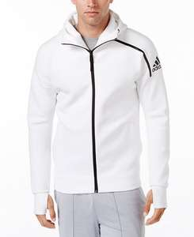 adidas ZNE Full Zip Hoody Training Jacket Men - White £28.90  / £33.90 delivered @ Adidas