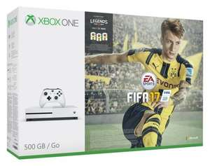 Xbox One S FIFA 17 Bundle (500GB) £237.49 @ Amazon