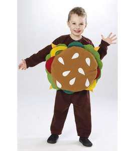 Hamburger fancy dress £1.99 + delivery @ Studio
