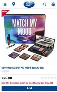 Seventeen Match My Mood Beauty Box half price £20 @ Boots