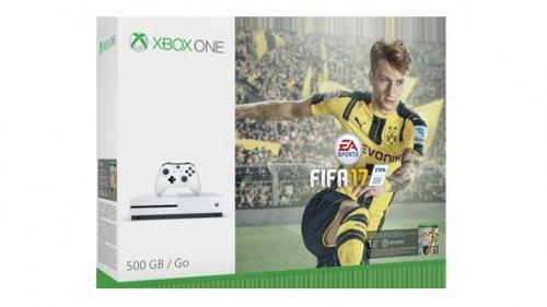 FIFA 17 500GB xbox one s console bundle, Gears of war 4, mafia 3, Forza Horizon 3 , Halo V for £277.49 @ Tesco direct