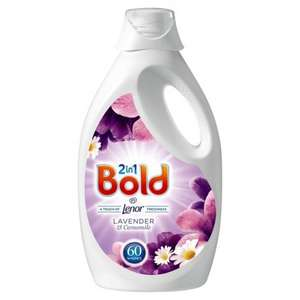 Bold 3L £5  for 60 washes @Morrisons
