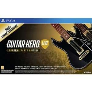 Guitar Hero: The Supreme Party Edition (PS4/Xbox1) = £36.99 @ Argos