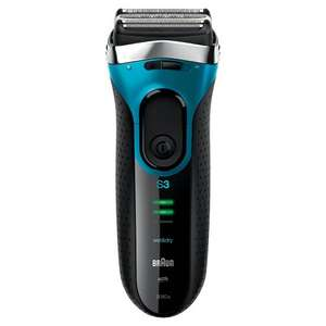 Braun Series 3 3080 Men's Electric Foil Shaver, Wet and Dry, Rechargeable and Cordless Razor - £42.99 @ Amazon