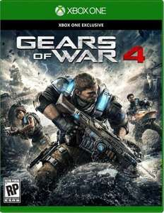 Gears Of War 4 (Xbox One) New £34.99 free delivery at Gamestop