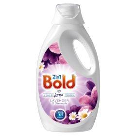 Bold 38 wash @ Wilkos £3 liquid lav/cam
