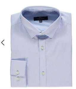 Tailor & Cutter Slim Fit Shirt £3.00 - Free click & collect @ Asda