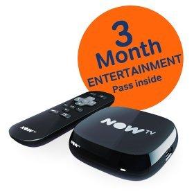 NOW TV box +3month entertainment pass (Walking Dead) £15 @ Asda