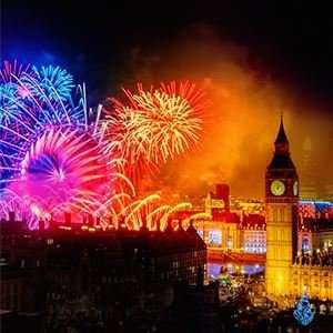 London New Year's Eve Fireworks Tickets £10 @ See tickets