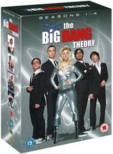[Used] The Big Bang Theory: Seasons 1-4 DVD £1.59 [Using Code] @ Music Magpie