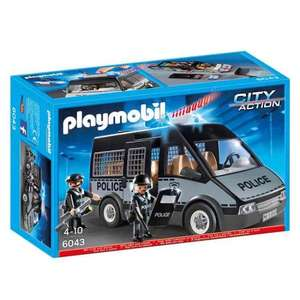 Playmobil 6043 City Action Police Van £13.99 @ Amazon (Prime exclusive)
