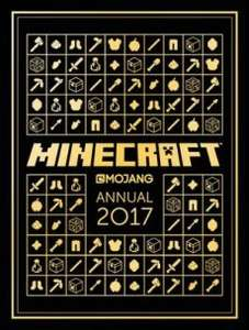 The Official Minecraft Annual 2017 £3.49 Prime / £6.48 Non Prime @ Amazon