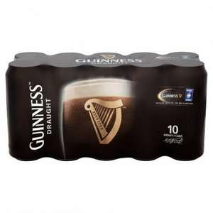 Free personalised glass with 10 x 440ml Guinness £9 Morrisons