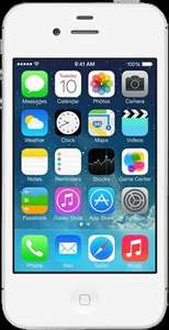 Apple iPhone 4s Like New From o2 no top up needed! (white only) £69.99 @ O2