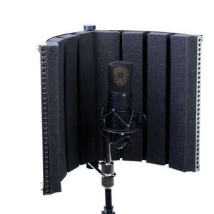 Portable Foldable Vocal Booth £59.95 Sold by Dangleberry Music and Fulfilled by Amazon.