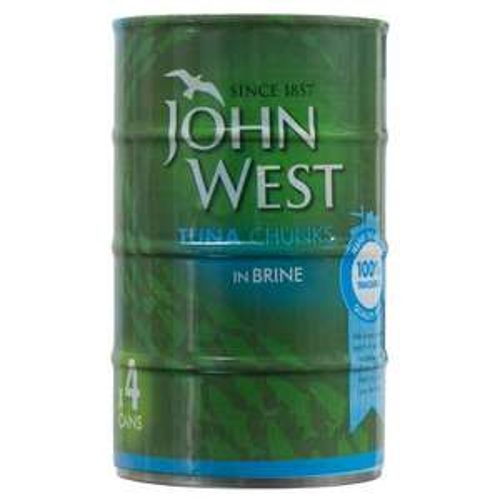 John West/Princes Tuna flakes- 4 x 145g cans £2.50 @ B&M