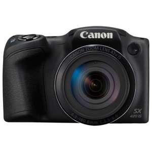 Canon Powershot SX420 20MP 42x Zoom Bridge Camera - Black £129.99 argos