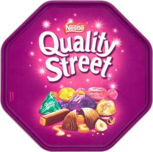 Quality Street Chocolates in a Tub (780g) ONLY £4.00 @ Iceland