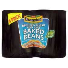 Branston Reduced Sugar And Salt Baked Beans 4 Pack £1.25 @ Tesco Online And Instore