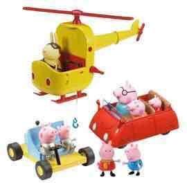 peppa pig vehicle set Tesco direct.
