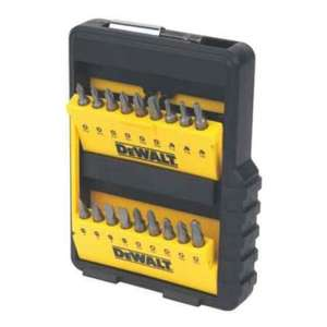 DEWALT COMBINATION SCREWDRIVER & METAL DRILL BIT SET 36 PC £12.99 @ Screwfix 48% off