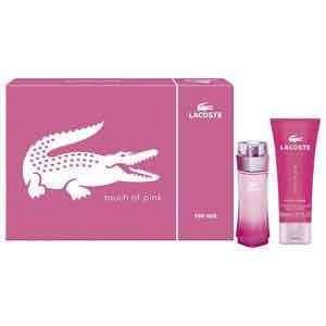 Lacoste Touch of Pink Gift Set 50ml EDT + 100ml Body Lotion £20 @Tesco ebay