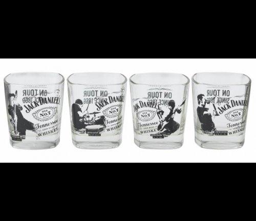 Jack Daniel's 4x Tumbler Set £12.79 @ Argos