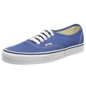 Vans - Navy Blue - size 2.5 (kids size) from £6.47 @ Amazon