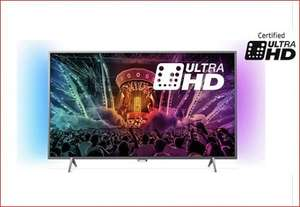 "Android TV Philips Ambient Light 43"" 4K TV Now Even Cheaper! Was £599 now £341.99 With Code Argos"