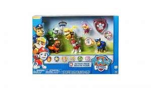 paw patrol figures £20 reduced from £40 Asda Instore