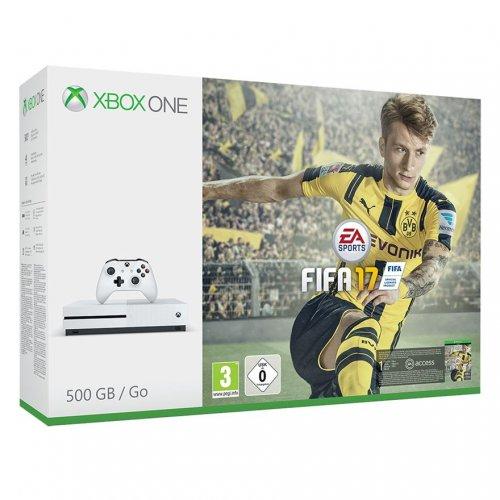 Xbox One S 500Gb + Fifa 17 + Minecraft + extra controller £269.99 @ Smyths