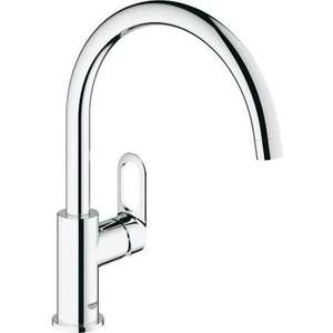 Grohe Bauloop Single-Lever Sink Mixer 1/2'' £61.98 @ Builder Depot
