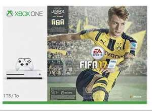 Xbox one s 1tb,  FIFA 17, Overwatch, gears of war 4, mafia 3 & Forza for £366.99 or Xbox & FIFA 17 £242.99 @ Tesco direct