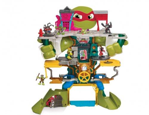 Teenage Mutant Ninja Turtles TUH30000 Half-Shell Heroes Headquarters Playset £55.99 @ Amazon