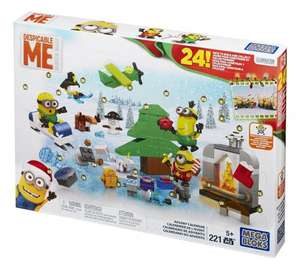 Mattel Mega Bloks  - Minions Movie Advent Calendar £7.99 AT TK Maxx