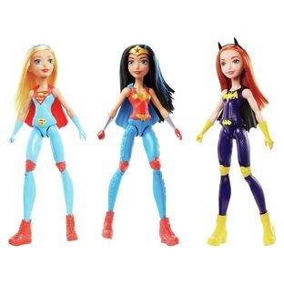 DC Super Hero Girls Training Action Doll Assortment £7.50 Asda Instore