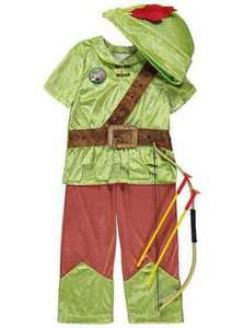 Robin Hood costume £6 at Asda free C&C
