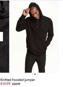h and m 40% off selected knitwear
