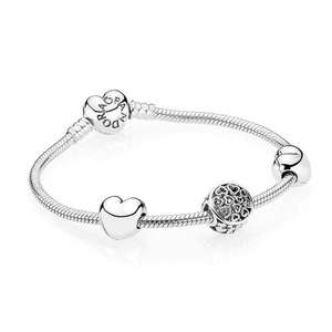 Pandora Bracelet was: £160.00 now £99 (RRP £160) plus free gift (worth £19.95) when you spend £75 or more from John Greed Jewellery