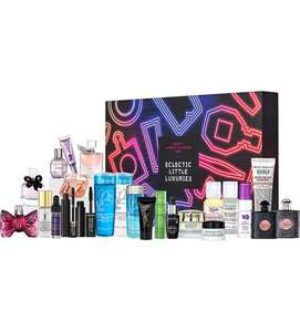 Eclectic Little Luxuries (Lancôme, YSL, Viktor & Rolf, Kiehls) Advent Calendar 2016 from SELFRIDGES £95+