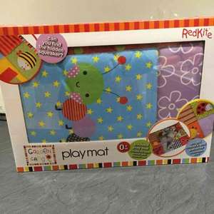 Redkite Baby Play Mat, suitable from newborn. £2.50 in store @ Asda Derby