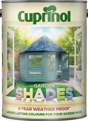 Cuprinol CUPGSSEA5L 5 Litre Garden Shades Paint - Seagrass £11.99 (Prime) £16.74 (Non-Prime) @ Amazon