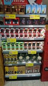 Selection of alcoholic gift sets homebargains £2.99