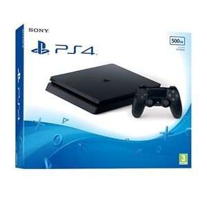 PS4 Slim 500GB Black Console UK Console £209.99 @ ebay / Shopto