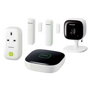 Panasonic Smart Home Monitoring and Control Kit - £149.97 @ John Lewis