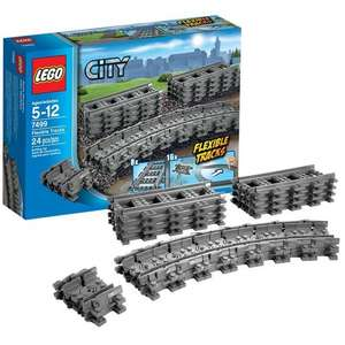 LEGO  7499 City Straight/Flexible track £11.99 @ Amazon Prime. £15.98 without prime