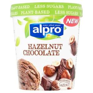 Alpro Ice Cream 3 for £5 at Tesco! Better than half price, Hazelnut Chocolate, Coconut and Vanilla flavours
