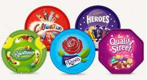 Celebrations, Heroes, Quality Street & Roses etc tubs - £4 @ Tesco from 1st Nov Online / 2nd November in store