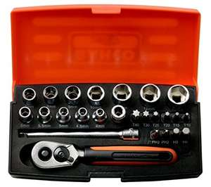 Bahco SL25 Socket Set 25 Piece 1/4 Inch Drive £17.95 Free p&p